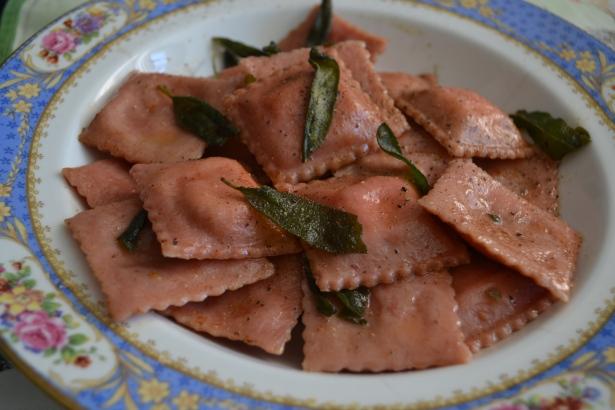 ravioli rosa